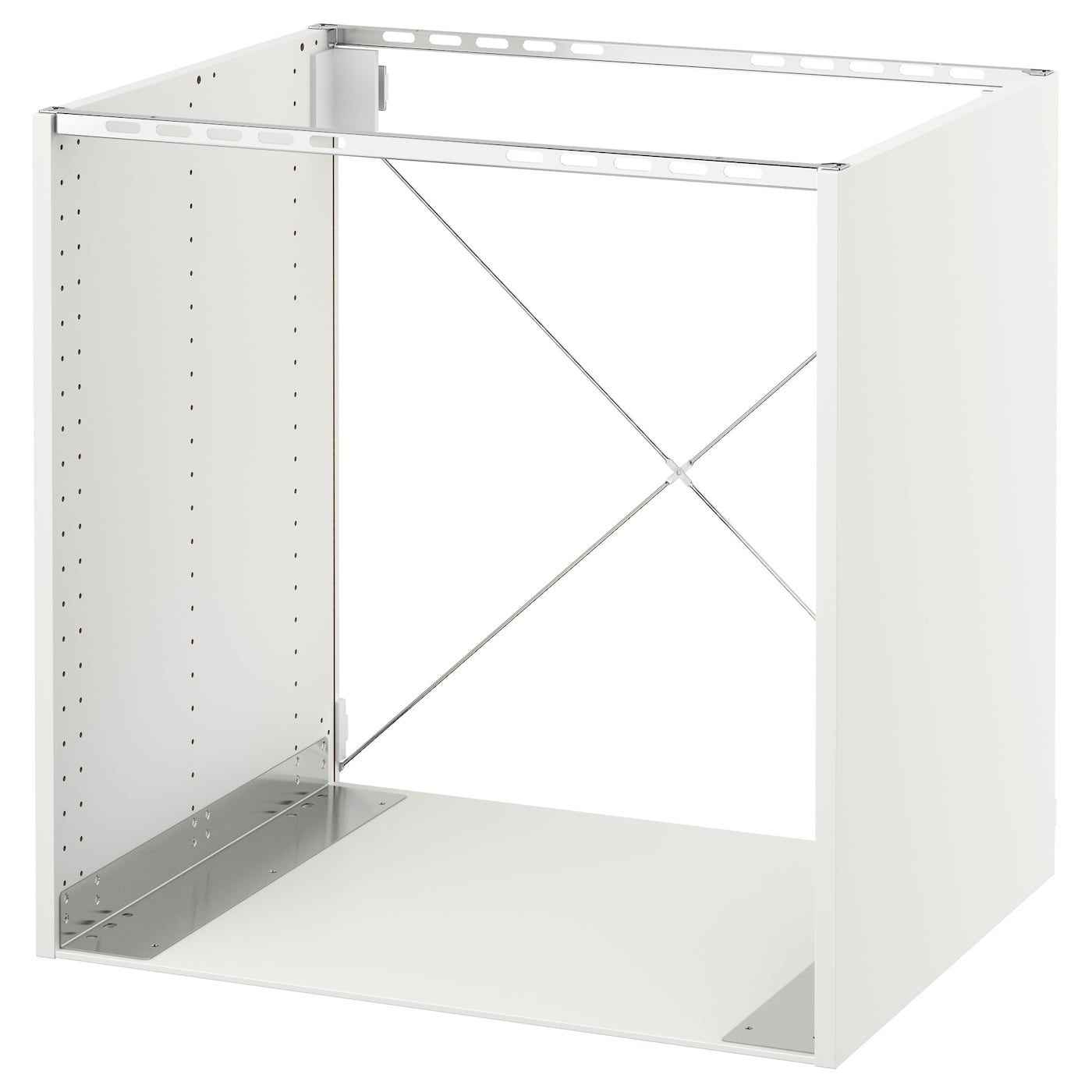 Sektion Base Cabinet For Oven White 30x24x30 76x61x76 Cm