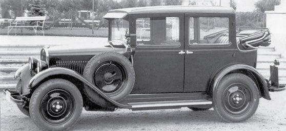 Пражское такси SKODA 422 с кузовом ландоле