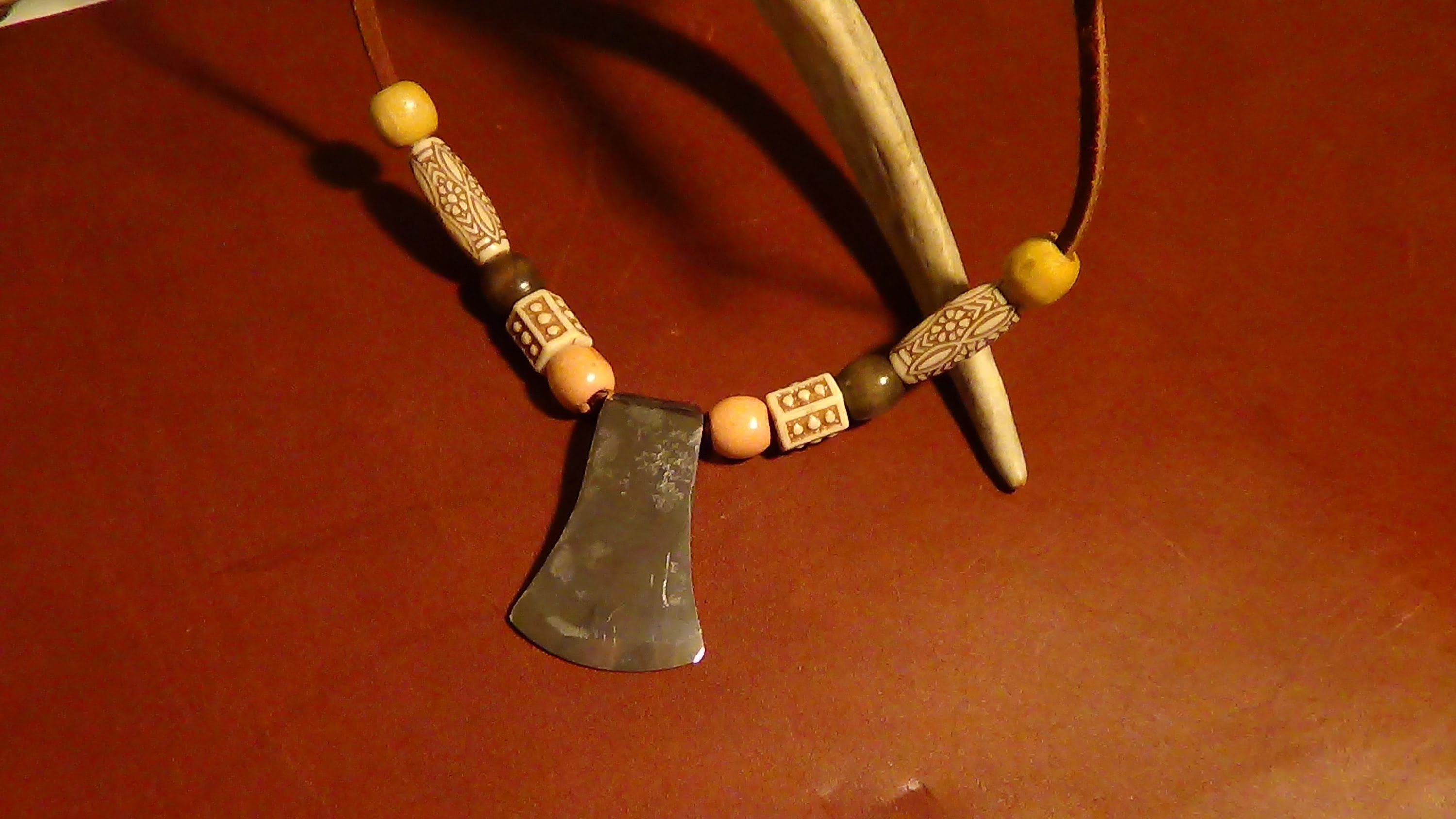Cody Lundin Style - Survival Necklace - A fire steel with