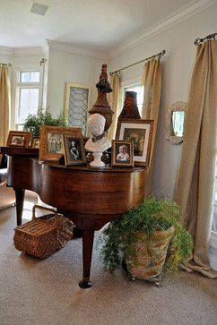 I have inherited my mom 39 s baby grand our living room isn - How to decorate a family room ...