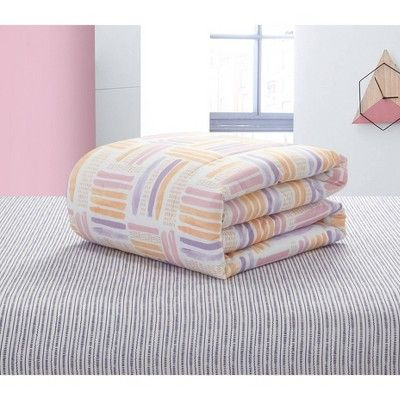 Full Laila Watercolor Bed in a Bag Lavender - Heritage Club