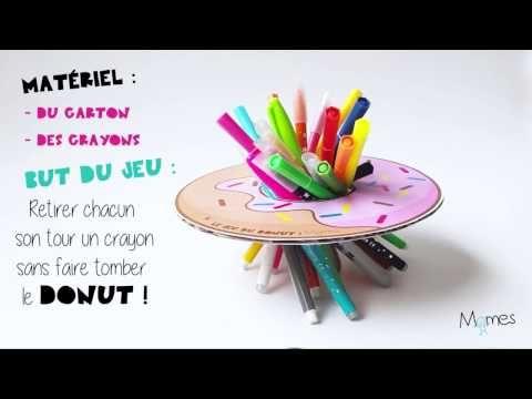 Le jeu du donut ! - YouTube activités manuelles Pinterest - Fabriquer Une Chambre Noire En Carton