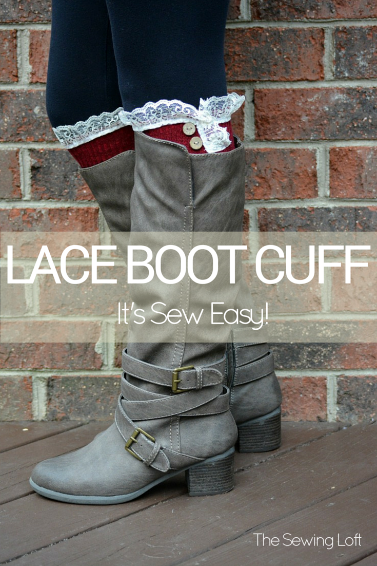 Lace Boot Cuffs DIY Video | Pinterest