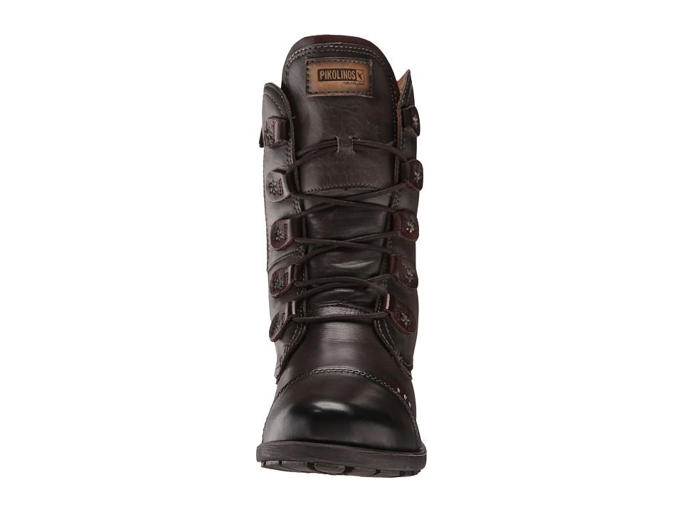 19a300df1976 Pikolinos Le Mans 838-9232 Women s Dress Lace-up Boots Lead
