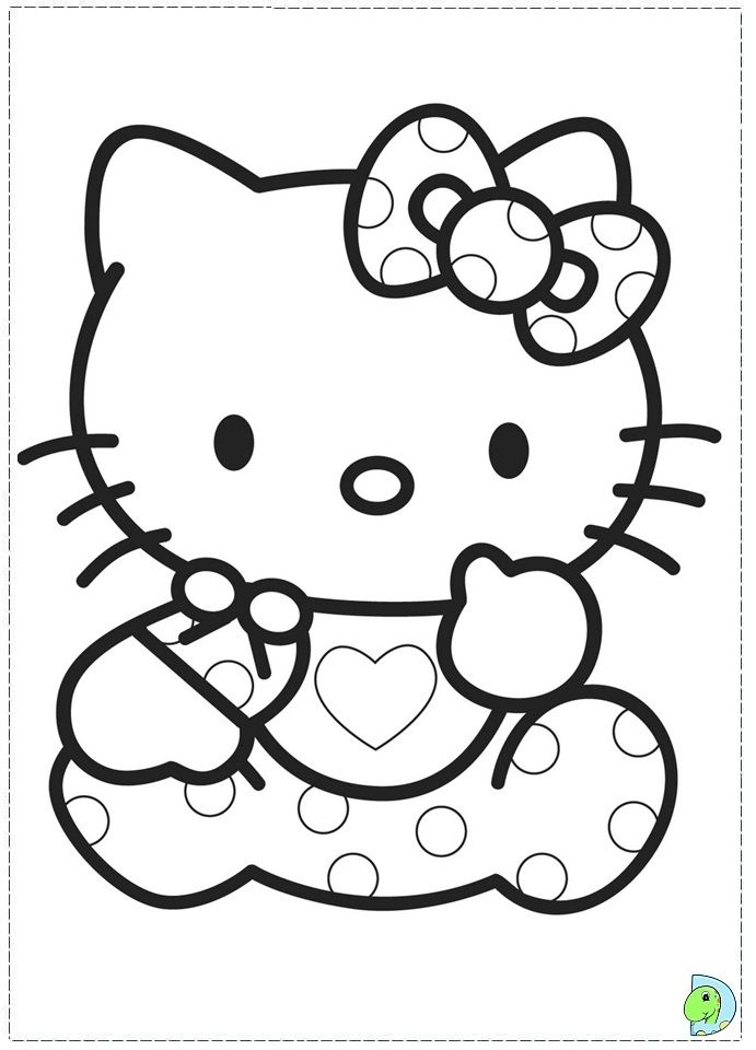 Baby Hello Kitty Coloring Page Hello Kitty Coloring Hello Kitty Colouring Pages Kitty Coloring