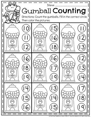 Numbers 11-20 Games | Pinterest | Gumball, Worksheets and Pre-school