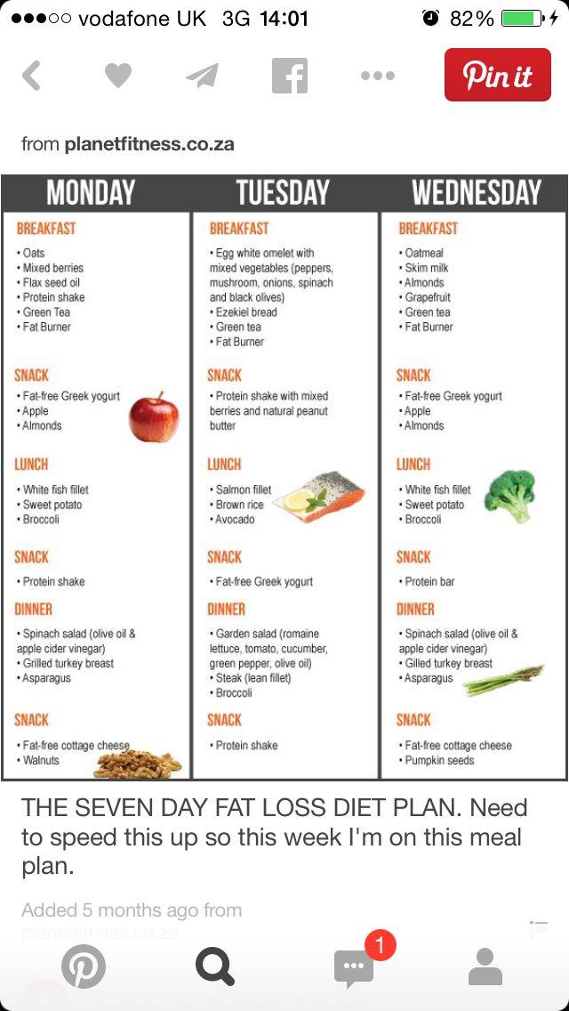 simple healthy meal plan uk