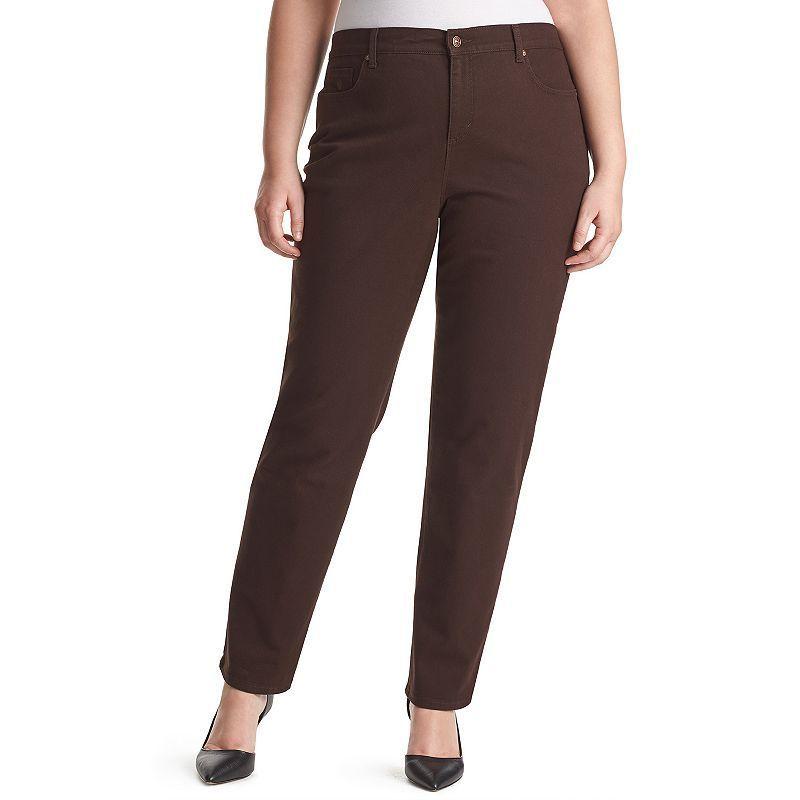 c349030d90132 Plus Size Gloria Vanderbilt Amanda Classic Tapered Jeans