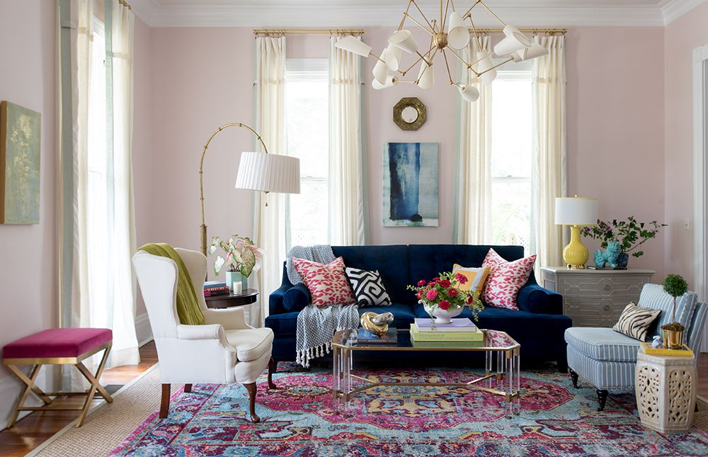 Gorgeous Living Room Makeover By Eddie Ross