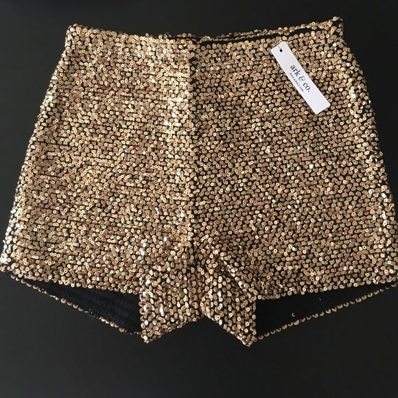High wasted party shorts Never used before (perfect condition) Ark & Co Shorts