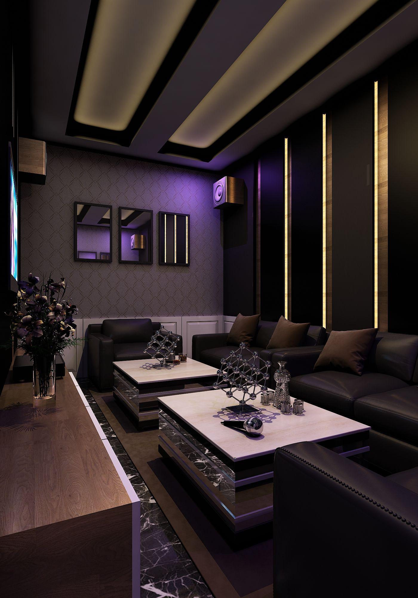 Ruang Karaoke Keluarga Karaoke Family 3ds Max Vray Ig