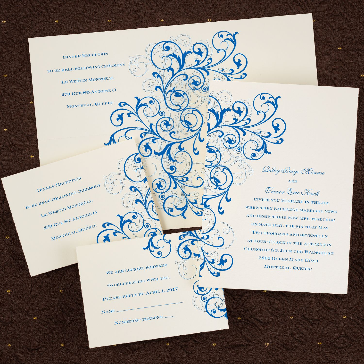 Affordable Style Wedding Invitations from My Sweet Wedding & Event ...
