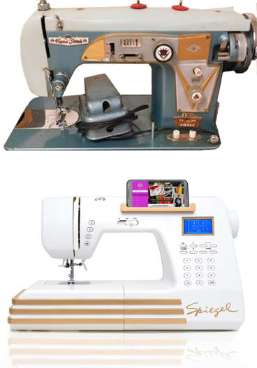 Would You Like To Have A Vintage Spiegel Vogue Stitch Sewing Machine Unique Sewing Machines Plymouth