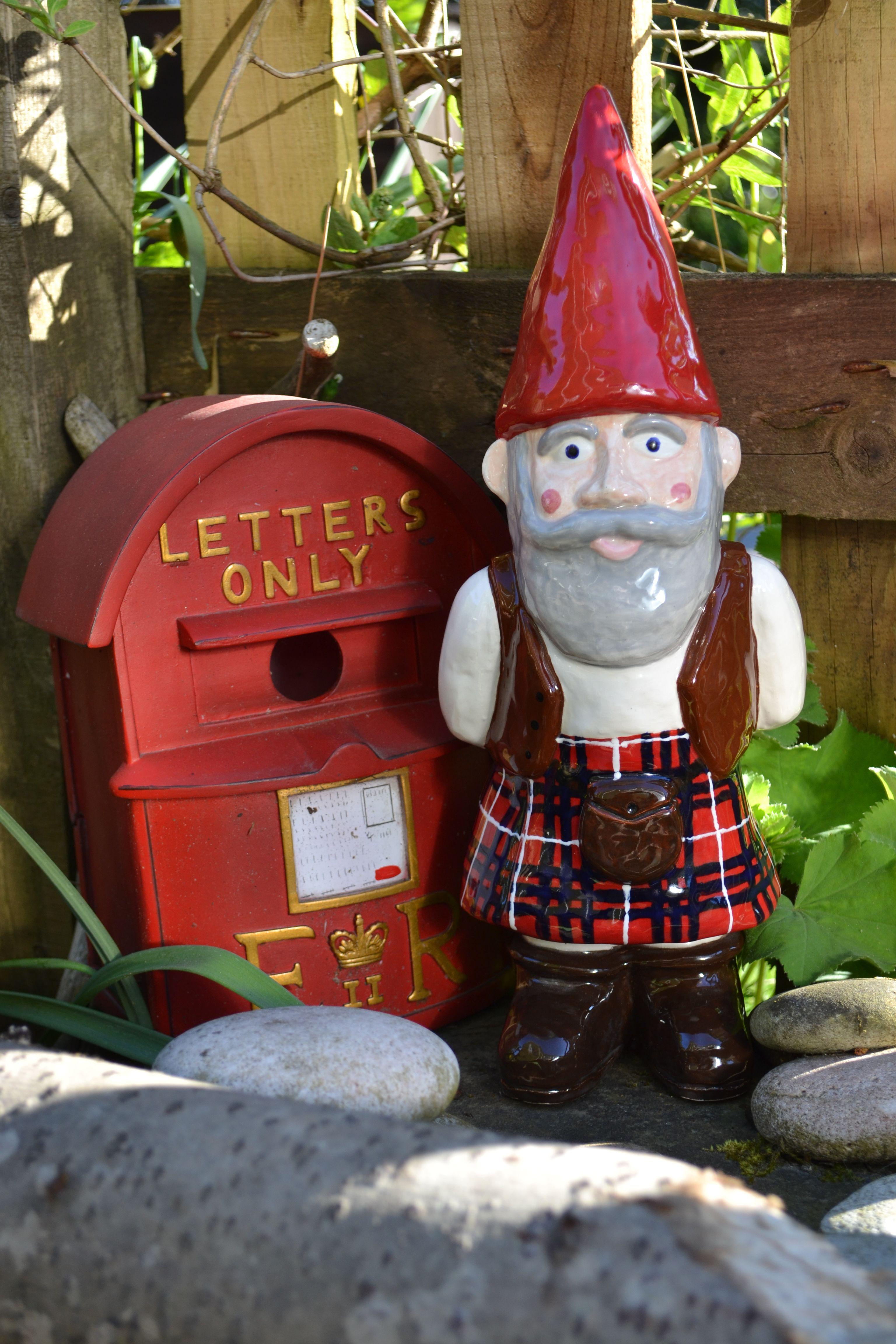 Macgnome Gnome Scottish Gnome Gnomes Miniature Fairy Gardens Gnome Garden