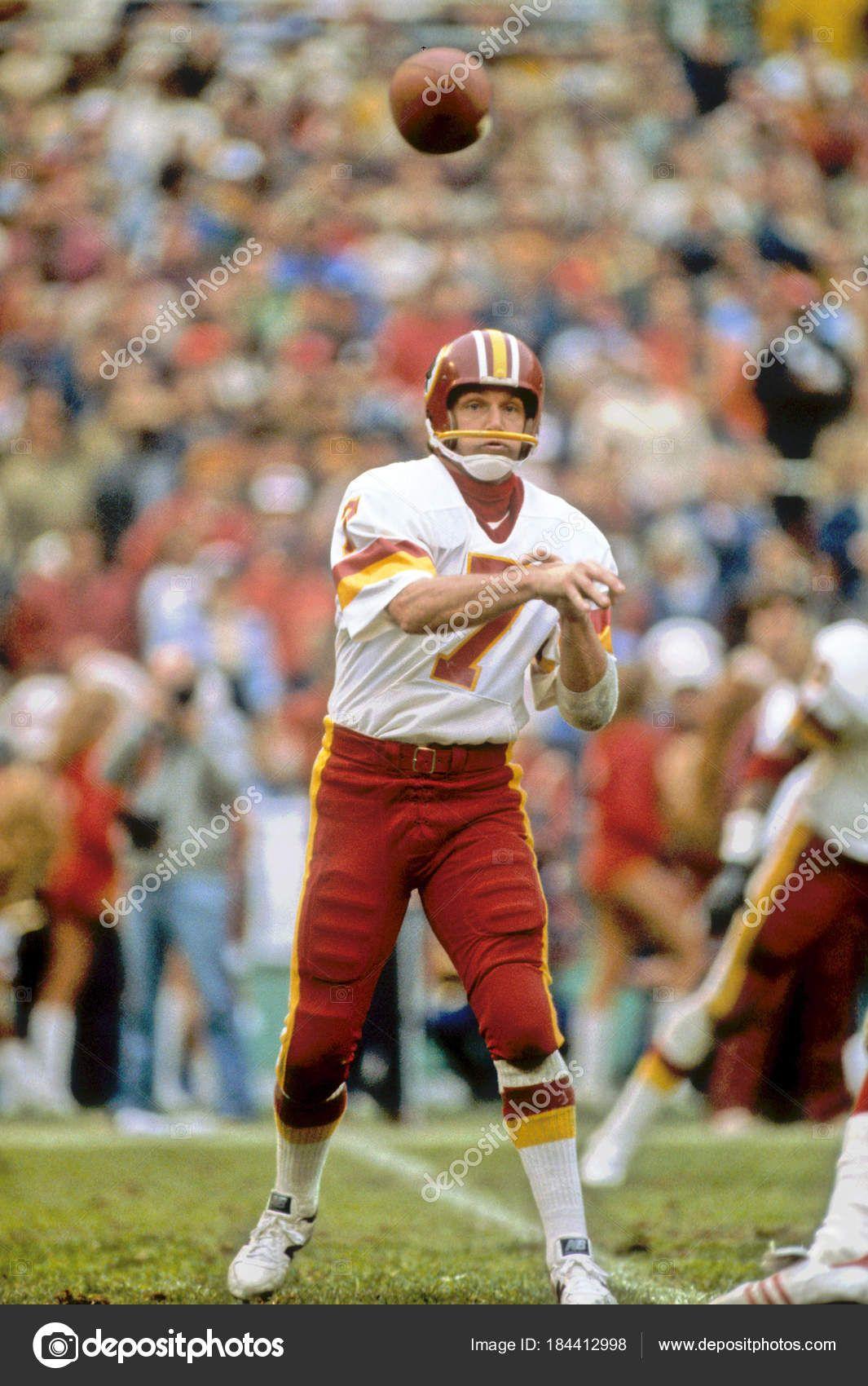 Joe theismann quarterback washington redskins stock