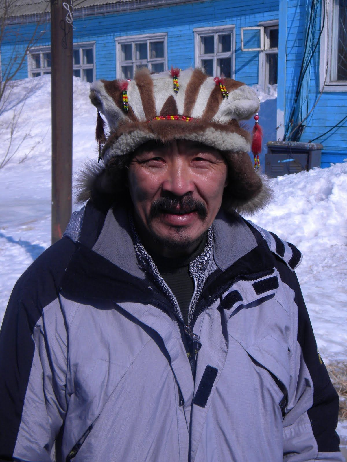 Koryaks (or Koriak) are an indigenous people of Kamchatka Krai in the Russian Far East, who inhabit the coastlands of the Bering Sea to the south of the Anadyr basin and the country to the immediate north of the Kamchatka Peninsula, the southernmost limit of their range being