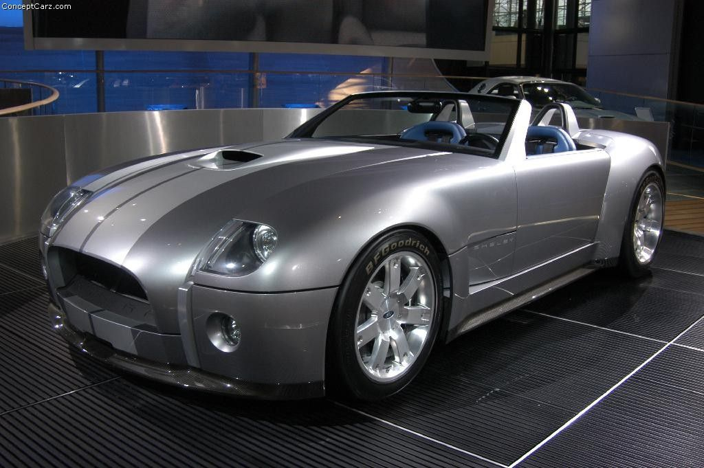 2004 Shelby Cobra Concept -- if only they had pulled the trigger.
