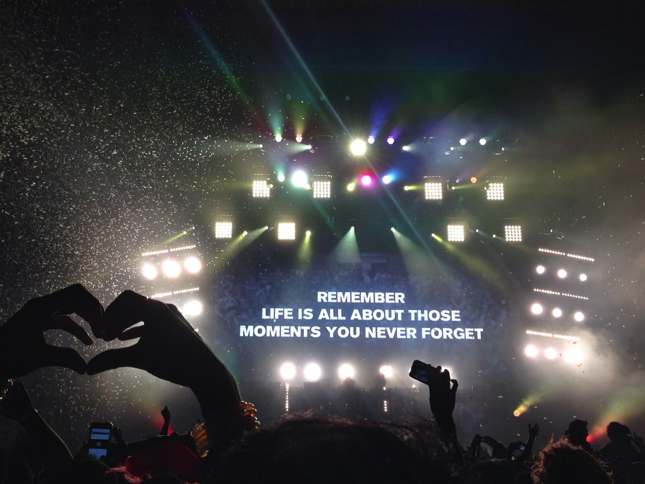Rave is the best that you can remember all your life