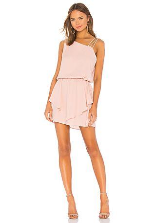 fdda72c68ea89 Asymmetrical Layered Mini Dress