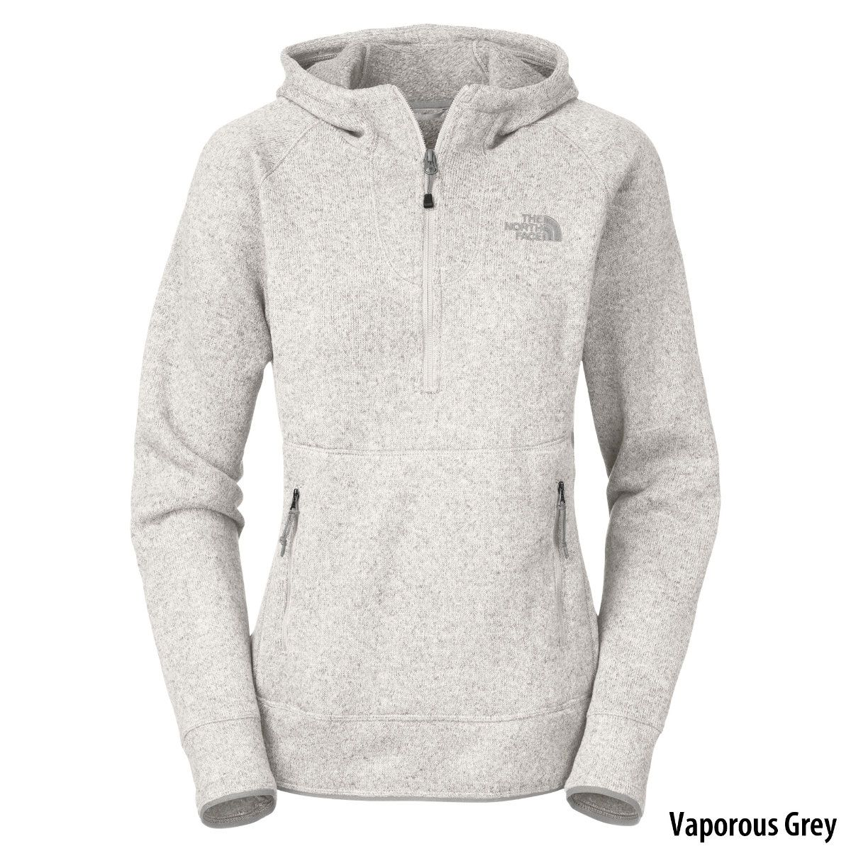 The North Face Womens Crescent Sunshine Half-Zip Hoodie - Gander ...