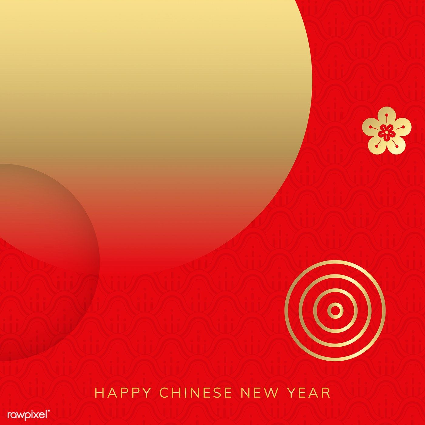 Download Premium Vector Of Happy Chinese New Year 2020 Background