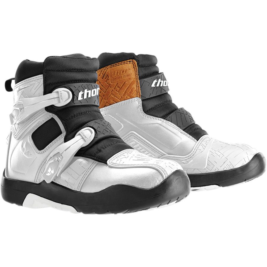 THOR BLITZ LS WHITE BOOT White boots, Boots, Motorcycle