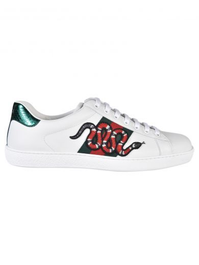 76cf0b7f7 GUCCI Gucci Snake Patch Sneakers. #gucci #shoes #https: Gucci Snake Sneakers