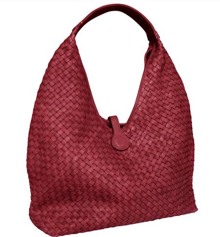 Luxury Italian designer woven bag only 1 left in red.  c8316b86e6d23