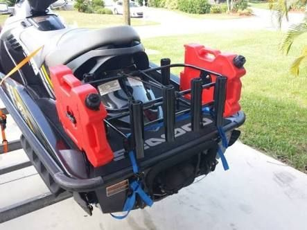Image result for diy jet ski fishing rack | jet ski | Jet ski