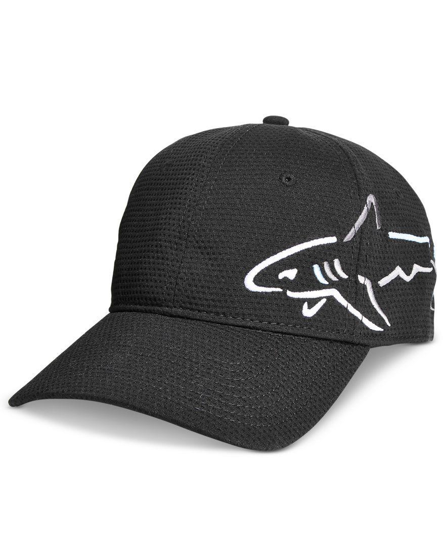 Greg Norman For Tasso Elba Men S Shark Cap Only At Macy S Hats Gloves Scarves Men Macy S Greg Norman Cap Scarf Men