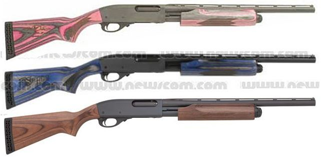 Remington 20 Gauge Youth Shotgun In Pink Of Course