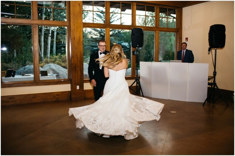 Father Daughter Dance Spotlight Dances Elite Dj Colorado Wedding Donovan Pavilion