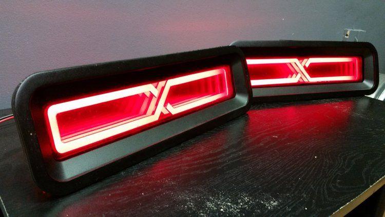 Infinity Tail Lights Vengeance Camaro Led Tail Lights Tail Light Camaro Accessories