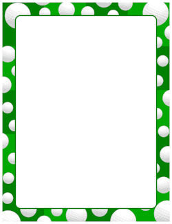 golf ball border golf 2 pinterest clip art pdf and