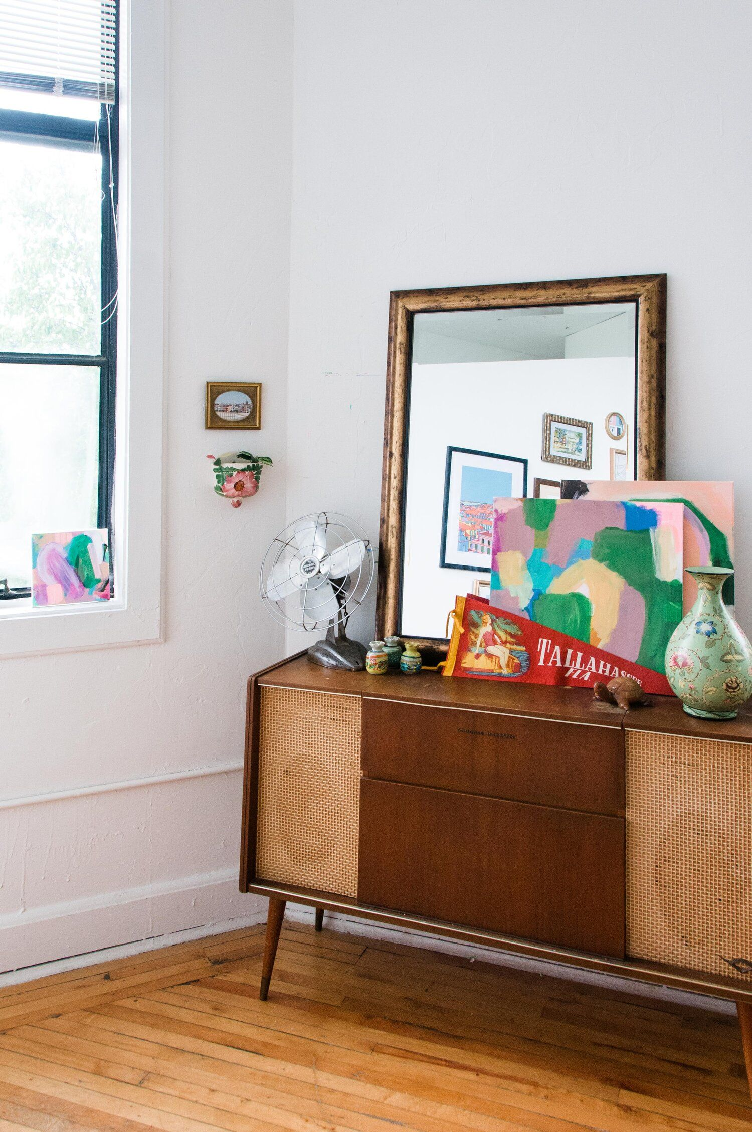 Mallory's Colorful, Eclectic Loft Apartment Tour in 2020