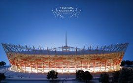 Warsaw Euro Football Stadium Wallpapers Hd Wallpapers Stadium Wallpaper Football Stadium Wallpaper Football Stadiums