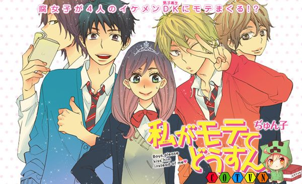 Anime Harem Kiss Him Not Me Ra Mat Chinh Thuc