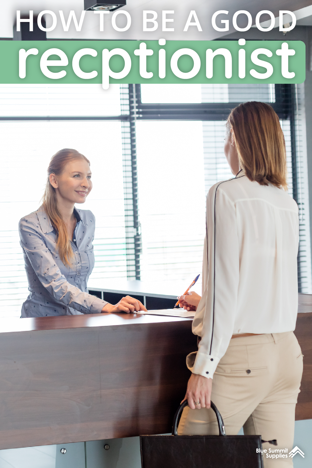 How To Be A Good Receptionist Tips And Tricks Receptionist Jobs Office Administration Receptionist