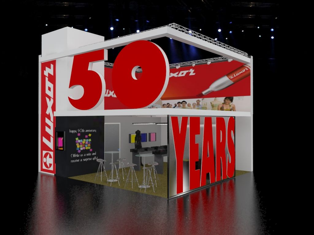 Exhibition Stand Rates : Luxorpen a exhibition stand design documentation central