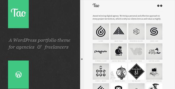 Tao: Retina & Responsive WordPress Portfolio Theme ...
