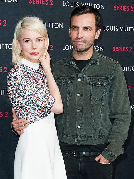 "Star Tracks: Friday, February 6, 2015 | ALWAYS IN STYLE | Michelle Williams looks dazzling in a little white dress as she joins Louis Vuitton creative director Nicolas Ghesquière at the Louis Vuitton ""Series 2"" The Exhibition party on Thursday in Hollywood."