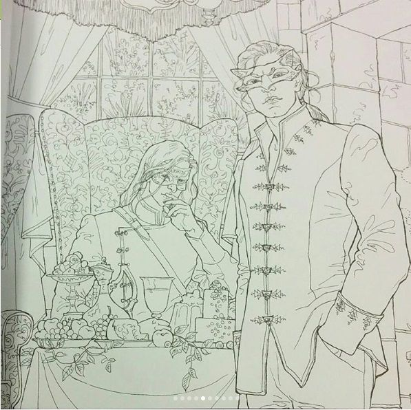 Acotar Coloring Book With Images A Court Of Mist And Fury A