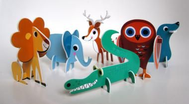 Zappelfloh Baby.Kinder.Laden | 3D-Steckpuzzle (Omm Objects) | Alles Schöne online bestellen