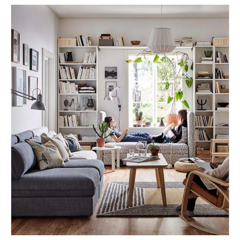 Billy Bookcase White 31 1 2x11x93 1 4 Ikea Ikea Living Room White Bookcase Apartment Decor
