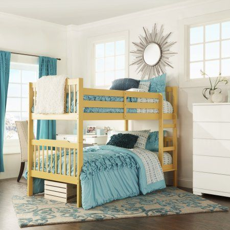 Chelsea Lane Elise Bunk Bed Multiple Finishes Yellow Products