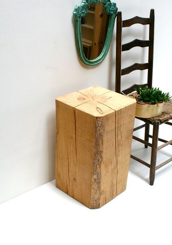 squared off log table