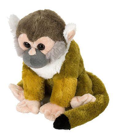 12 Squirrel Monkey Plush Toy By Wild Republic On Zulily Plush