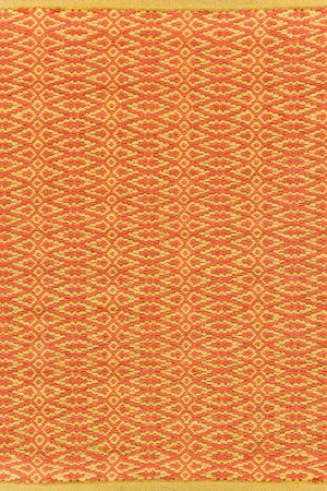 RugStudio presents Dash And Albert Fair Isle Paprika/Curry Woven Area Rug