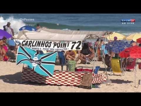 RENATO GAÚCHO aproveitou e ficou do Rio de Janeiro pra jogar um futvolei...