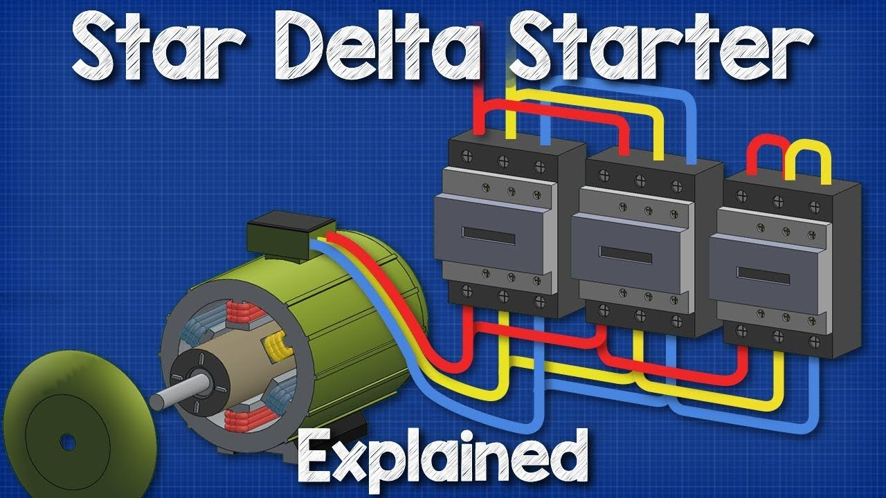 Star Delta Starter Explained - Working Principle